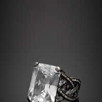 ideeli | CZ BY KENNETH JAY LANE Empress Vine Ring