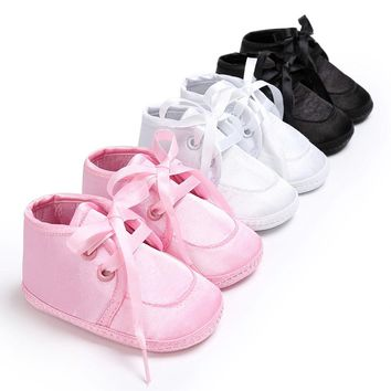 0-18 Months Baby Shoes Boy Girl Newborn Crib Soft Sole Shoe Sneakers  Infant Prewalker New Born Baby Shoes