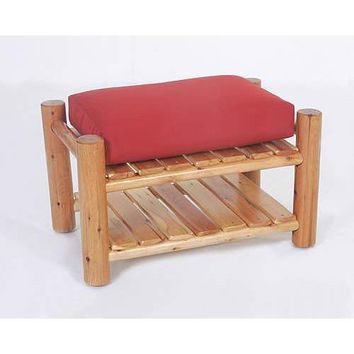 Moon Valley Rustic Chair Ottoman - Frame Only