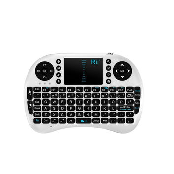 2.4G Rii Mini i8+ Wireless Keyboard with Touchpad for PC Pad Andriod TV Box