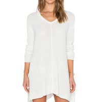 Show Me Your Mumu Overtop Sweater in Cloudy White