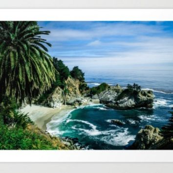 Big Sur, California Art Print by Suzie Everly