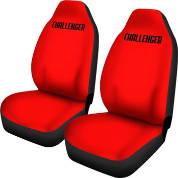 Dodge Challenger Red Seat Covers