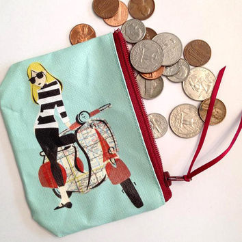 Scoot coin purse