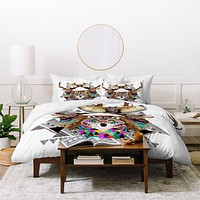 Kris Tate Forest Friends Duvet Cover