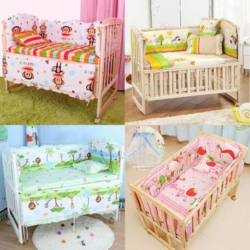 Lot of 5Pcs 100x58cm baby crib bedding set for newborn baby