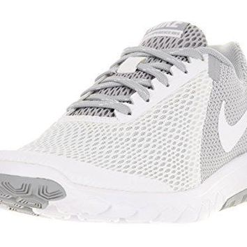 NIKE Women's Flex Experience RN 5 Running Shoe White/White/Wolf Grey 8.5 B(M) US