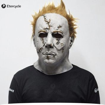 ESBONHS Scary MichaelMyers Mask Horror Movie Halloween Cosplay Adult Latex Party Mask