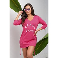 Beach Days Cover Up - Pink