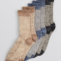 HUE Tweed Twist Boot Socks | Bloomingdales's