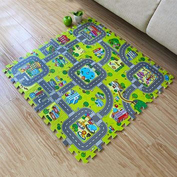 Baby Crawling Mat Baby Carpet Developing Mat For Children Baby Toy Game Kids Rug Baby Toys Puzzle EVA Foam Play Rug Drop