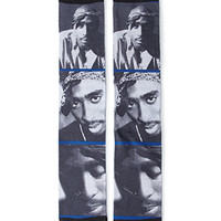 Tupac Graphic Socks