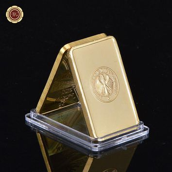 Deutsche Reichsbank Gold Bullion Bar 1oz 999 German Eagle Replica Gold Bar