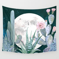 Desert Nights by Nature Magick Wall Tapestry by Nature Magick