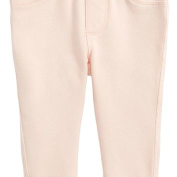 Tucker + Tate Crochet Lace Trim Jeggings (Baby Girls) | Nordstrom