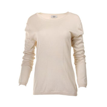 Weill Womens Silk Long Sleeves Pullover Sweater