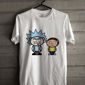 Rick And Morty Cute 6123 Shirt For Man And Woman / Tshirt / Custom Shirt