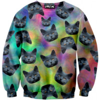 ☮♡ Trippy Cats Sweater ✞☆