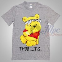 Winnie The Pooh Thug Life T Shirt - Mpcteehouse