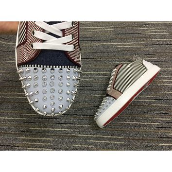 Christian Louboutin Cl Louis Junior Spikes Orlato Sneakers Reference 109