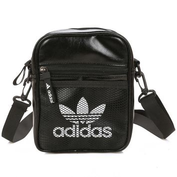 ADIDAS Men Fashion Leather Office Bag Crossbody Shoulder Bag Satchel