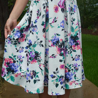 Pretty as a Posey Skirt