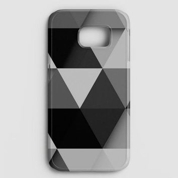 Abstract Black Samsung Galaxy S7 Case