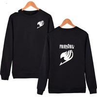 Fairy Tail Japanese Thick Winter Hoodie Sweatshirt