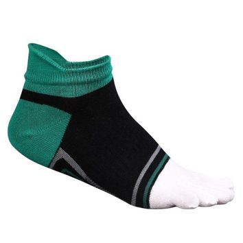 Five Finger Sport Socks Male Cotton Soft Sock Male  Toe Breathable Ankle Cycling Camping  Running Socks