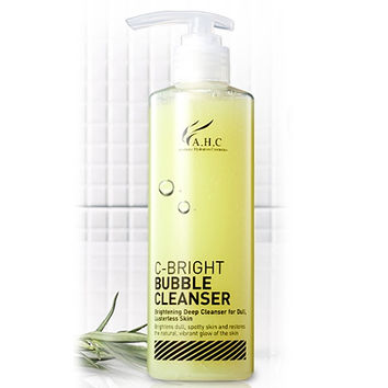 AHC C-Bright Bubble Cleanser 250ml - Makeup Remover