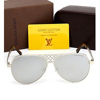 LV Fashionable Women Men Summer Sun Shades Eyeglasses Glasses Sunglasses I-HWYMSH-YJ