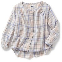 Old Navy Plaid Flannel Tunic