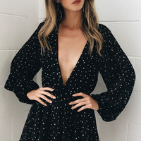 Night Fall Romper