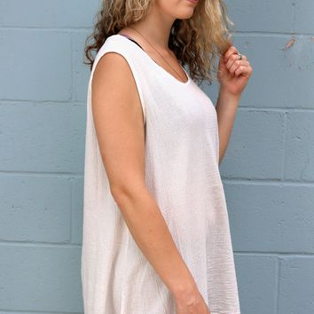 Lois Tunic - Cream by Bryn Walker