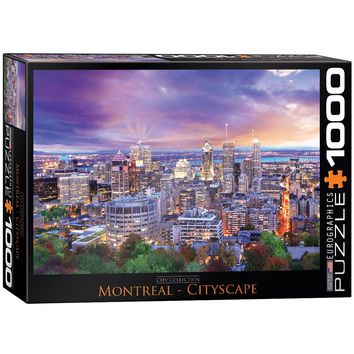 Montreal - 1000 Piece Jigsaw Puzzle
