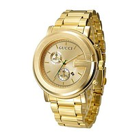 GUCCI Ladies Men Watch Little Ltaly Stylish Watch F-PS-XSDZBSH Gold, For Black Friday
