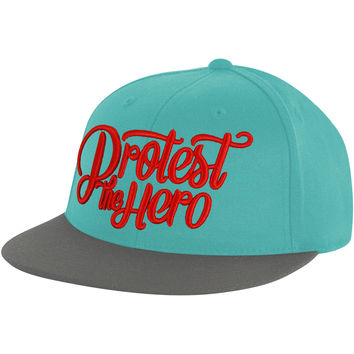 Protest The Hero Men's  Stacked Script Baseball Cap Multi