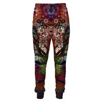 Harajuku Style 3D Trip Tree Sweatpants Pops Of Bright Colors Trippy Casual Trousers Men's Clothing Joggers Pants Plus Size XXXL