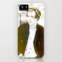Harry Styles in Paris iPhone & iPod Case by Chase Keeling