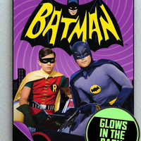 Adam West Batman Glow In The Dark Framed Cool Blacklight Mini Movie Poster