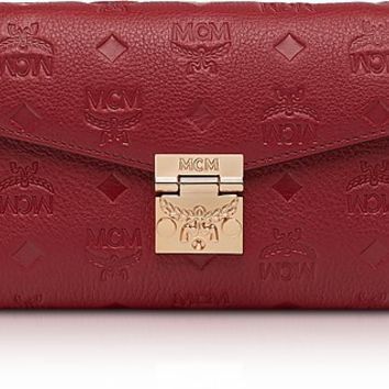 MCM Millie Monogrammed Leather Small Crossbody Bag