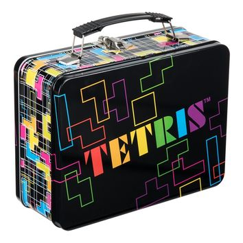 Retro Tetris Lunch Box