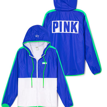 Anorak Full-Zip Hoodie - PINK - Victoria's Secret
