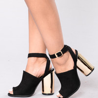 I Want You To Stay Heel - Black