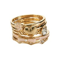 Bow Stack Ring 5-Pack