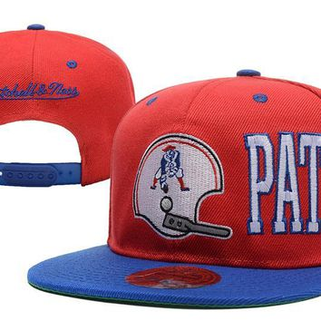 hcxx New England Patriots Snapback NFL Football Hat M&N