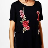 Ella Embroidered T-Shirt