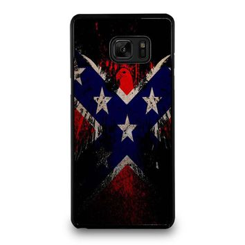 BROWNING REBEL FLAG Samsung Galaxy Note 7 Case Cover