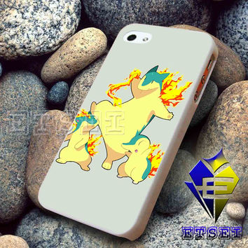 Cyndaquil Quilava Typhlosion For iPhone case Samsung Galaxy case Ipad case Ipod case