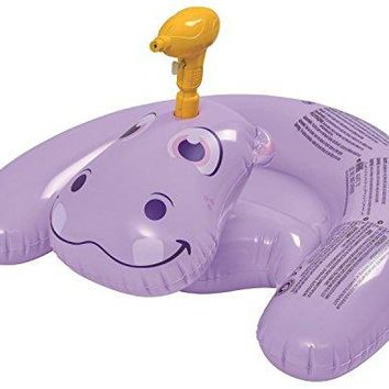 By PoolCentral 35 inch  Purple Inflatable Ride-On Hippo with Squirter Swimming Pool Toy